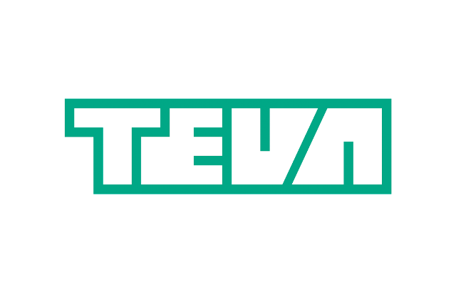 Teva english logo white